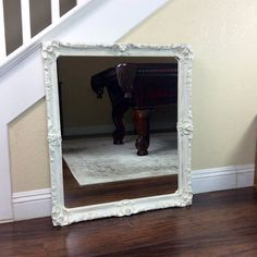 BEAUTIFUL WALL MIRROR Ornate Mirror Ornate Mirror by ShabbyShores