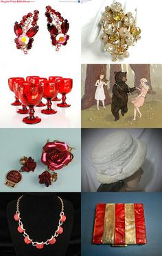 Rose Red and Snow White by Chris on Etsy--Pinned with TreasuryPin.com