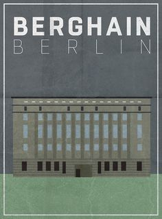 Berghain Berlin, The IT Club for electronic music in Germany. Even if you don´t like such music, the architecture is worth going. A modern cathedral.