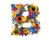 Stock Photo of Flower Alphabet - B k1272634 - Search Stock Images, Mural Photographs, Pictures, and Clipart Photos - k1272634.jpg