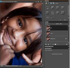Tips and tricks for Photoshop Elements: How to add soft glow to a potrait and make skin be...