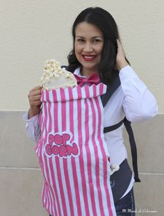 Diy Costume Baby´s first halloween Feliz Halloween, First Halloween, Halloween Ideas, Halloween Costumes, Pop Corn Costume, Halloween Disfraces, Baby Costumes, Apron, Outfits