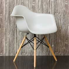 Grey Retro Armchair - Chairs & Armchairs - Chairs - Furniture