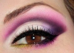 Beautiful Eye Makeup love the combo of colors