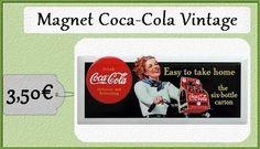Magnet Coca Coke Rétro