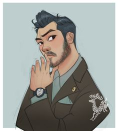 Godfrey Gao portrait study :) support me on http://patreon.com/artspell