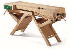 Austrian made height adjustable work bench.