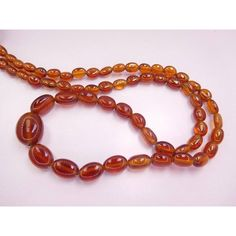 """Friends, a shiny item is here ✨ 18"""" long natural hessonite garnet 4x5-9x15 mm smooth finished gemstone oval be...  https://www.etsy.com/listing/569487319/18-long-natural-hessonite-garnet-4x5?utm_campaign=crowdfire&utm_content=crowdfire&utm_medium=social&utm_source=pinterest"""