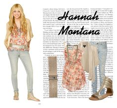 """""""Hannah Montana"""" by marilia13 ❤ liked on Polyvore featuring R13, Betsey Johnson, Topshop, Miso, Miss Selfridge and GUESS by Marciano"""