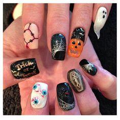 #halloween #nail #nailpolish #beautiful