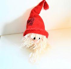 Tovet stor nisse Barn, Crochet Hats, Christmas, Knitting Hats, Xmas, Converted Barn, Navidad, Noel, Natal