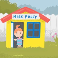 Video Stills Of The Nursery Rhyme Miss Polly Had A Dolly! All Songs, Kids Songs, Rhymes Video, Nursery Rhymes, Learn English, Singing, Make It Yourself, Learning English, Nursery Songs