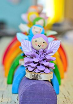 Pine cone fairy craft!