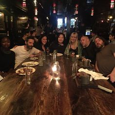 Last night at Ace Hotel with some of the oldest friends in the city #moving #after25years #byenewyork
