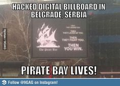 Pirate bay lives!