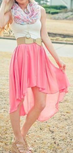 Swallowtail Pink Skirt <3
