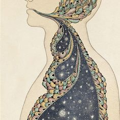 there is nothing but stars inside you. breathe.