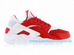 1435d4fee7db Nike Air Huarache Run Premium MILANO Men´s Nike Sportswear Shoe University  Red White 704830-610
