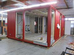 Maison conteneur écologique / à étages C384 cargotecture