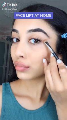 Contour Makeup, Glam Makeup, Skin Makeup, Downturned Eyes Makeup, Flawless Face Makeup, Makeup Brushes, Make Up Looks, Everyday Makeup Tutorials, Makeup Looks Tutorial