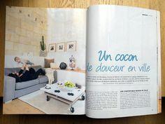 Parution press - HOME magazine - N°54 - Nov/Déc 2014  Au50Bis - agence de décoration d'intérieur - Bordeaux | ACTU & PRESS