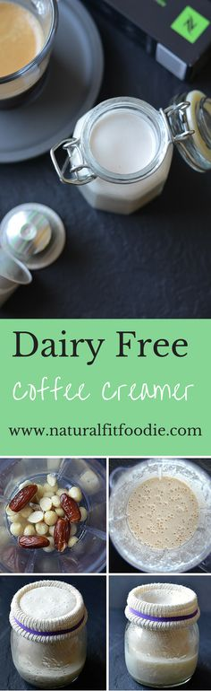 This naturally sweet dairy free coffee creamer is the only coffee creamer you will ever need!