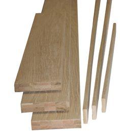 Oak Veneer Internal Door Lining Set, (H)2m (W)150mm | Departments | DIY at…