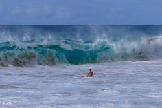 Surf Condition 130520- 13:00 at Sandy Beach Oahu HI