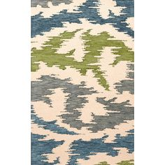 Dalyn Rug Co. Bella Gray/Blue/Green Area Rug Rug Size: Oval 9' x 12'