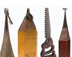 Dalton Ghetti pencil sculptures