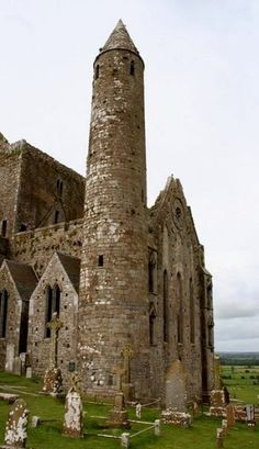 Rock of Cashel, Ireland .  Saw this in 2011. Can't find my picture.  Loved Ireland so much. Just like a picture book. ( Germany has lots of castles and churches that are beautiful too.  If I can find the pics.