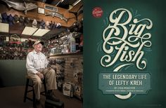 Baltimore Magazine. May 2016. Big Fish. Photography by Mike Morgan. Lettering by Tobias Saul.