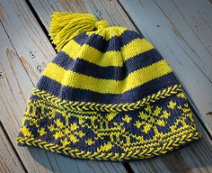 Ravelry: Retro Norwegian Hat pattern by Tanis Gray - free pattern