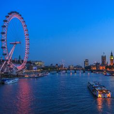 See the capital of England from the sky by taking a ride on the London Eye.