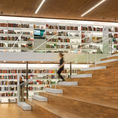 """São Paulo bookstore walls are """"clad with books"""" from floor to ceiling"""