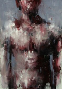 Untitled, oil on canvas, by Korean artist, KwangHo Shin.