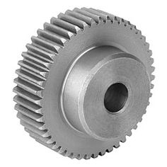 Engrenage avec denture fraisée / Spur gears in steel, toothing milled, straight teeth - 22400