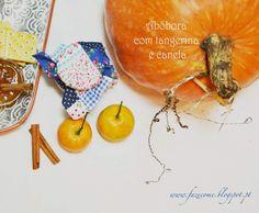 Receita Compota de abóbora com tangerina e canela