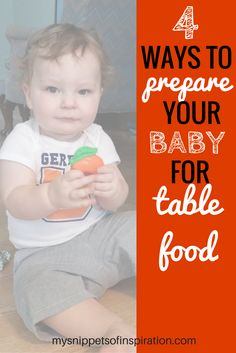 4 Ways to Prepare Baby for Table Food 4 Ways to Prepare Baby for Table Food Danielle Wells Save Images Danielle Wells It can be a tricky transition to… – Organics® Baby food Toddler Meals, Toddler Crafts, Parenting Toddlers, Parenting 101, Gerber Baby, Happy Mom, Baby Led Weaning, Baby Development, Save Image