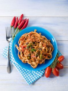 Pasta Recipe: Tagliatelle With Tuna Tomato Sauce