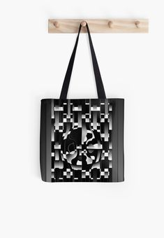 'Is This The Amazement?' All Over Print Tote Bag, print design by Asmo Turunen. #design #totebag #shoppingbag #atcreativevisuals