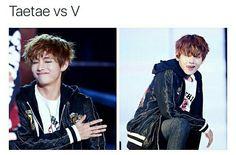 bts, v, taehyung, kpop memes