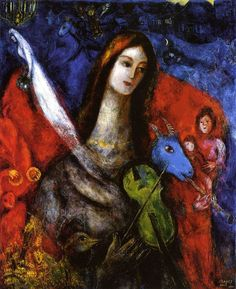 Concert Bleu by Marc Chagall, 1945. Oil on canvas