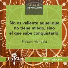 Facebook: https://www.facebook.com/lacler.mx/ | #arte #frases #quotes #lunes #inspiración #mandela