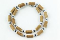 Women Hazel Necklace - hematite/pearls - Healing Hazel Ankle Bracelets, Healing, Necklaces, Pearls, Jewelry, Women, Fashion, Moda, Jewlery