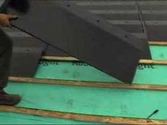 A short video showing how straightforward it is to install a roof with Solarcentury's solar photovoltaic roof tile product - C21e.The video shows roof preparation, tile installation and electrical connections, plus inverter installation and connection.