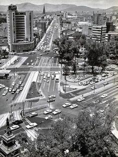 Paseo de la Reforma y Av. de los Insurgentes 1960 en Cd. de Mexico