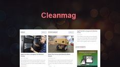 CleanMag - Responsive WordPress Blog,News,Magazine Theme