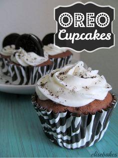 Oreo Cupcakes | #cupcakes #Oreo