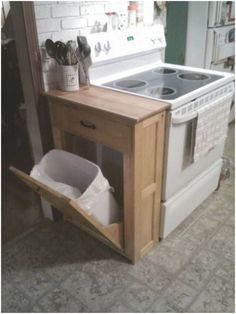 If you are looking for Small Kitchen Remodel Ideas, You come to the right place. Below are the Small Kitchen Remodel Ideas. This post about Small Kitchen R. Tiny House Storage, Storage Sheds, Sweet Home, Diy Casa, Hidden Storage, Hidden Shelf, Extra Storage, Home Projects, Home Kitchens